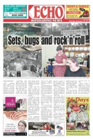 Front page Echo newspaper 20141129
